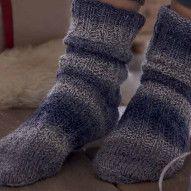 joulukale 18 Knitting Socks, Knit Socks, Crochet Clothes, Leg Warmers, Tweed, Knit Crochet, Slippers, Legs, Knits