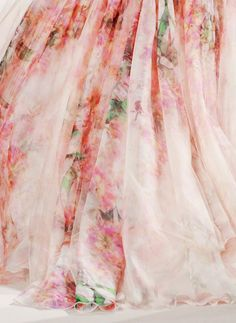 9thspace:  it's not a painting. It's Elie Saab Couture S11