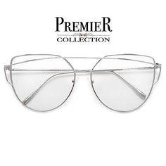 88fe6131ec Premier Collection-Elegant Modern 63mm Crossover Browbar Women s Ultra – Sunglass  Spot