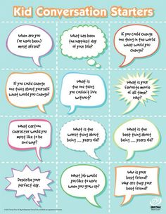 conversation starters for social skill groups