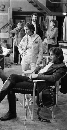Behind the scenes of Star Wars Episode V: The Empire Strikes Back: Princess Leia…