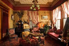 victorian parlor | late-Victorian parlor | Old House Interiors