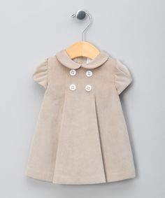 Olive Corduroy Dress - Infant, Toddler & Girls