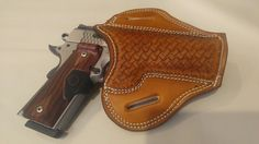 Basket Weave pancake holster for S&W 1911CT Loading that magazine is a pain! Get your Magazine speedloader today! http://www.amazon.com/shops/raeind