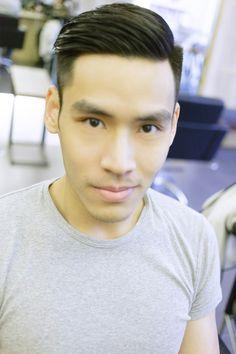 台北東區男生剪髮油頭