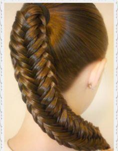 Fishtail Braid #hair #extensions