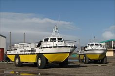 LARC Amphibious vehicles by Observe The Banana, via Flickr