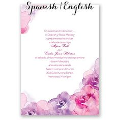9 Best Invitations In Spanish Images On Pinterest