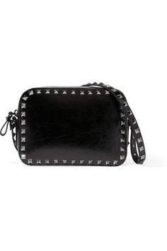 9c91529f2805 VALENTINO The Rockstud patent-leather shoulder bag.  valentino  bags   shoulder bags
