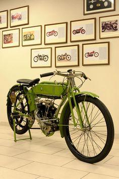 NSU SPORTMAN 400 4T bicilindrico a valvole contrapposte, 1912   Credits Studio129 by Turismo Emilia Romagna, via Flickr