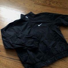 Black Nike windbreak #gym #fitness #jackets #menshealth #fit #fitman #fitmen #sports #sportsjackets