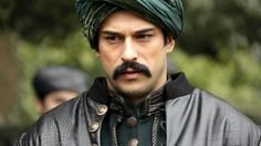 "Burak Özçivit as Malkoçoğlu Bali Bey in ""The Sultan"" Turkish TV series."