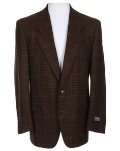 And style from Christian Dior Black, Brown & Grey Tartan Jacket...