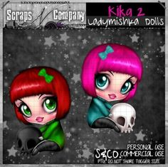 """""""KIKA 2 CU"""" by LadyMishka Dolls  http://scrapsncompany.com/index.php?main_page=product_info&cPath=161&products_id=9588"""