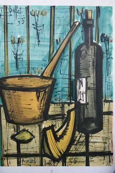 Bernard Buffet - Still Life, 1955