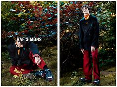 Raf Simons Fall/Winter 2013 by Willy Vanderperre