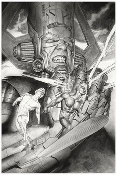 ilustraciones de Marvel y Star Wars por Adi Granov Parte 2 Marvel Comics Art, Marvel Comic Books, Comic Book Heroes, Comic Books Art, Comic Book Artists, Comic Book Characters, Comic Artist, Marvel Characters, Marvel Comic Character