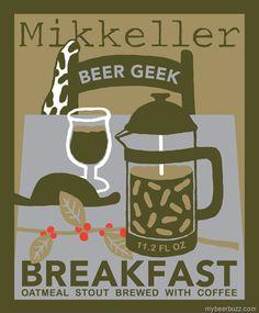 One of beer's best breakfasts: Mikkeller Beer Geek Breakfast Oatmeal Stout