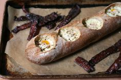 """Weekend brunch idea: the genius new way to make """"Eggs in a Hole"""""""