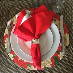 Sousplat de Natal #sousplat #decordenatal #christmasdecor