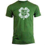 Old Time Hockey Los Angeles Kings St. Patrick's Day Dempsey T-Shirt - Kelly Green