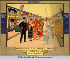 London Underground poster, 1924 . .