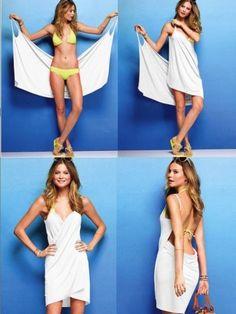 Women-Sexy-Deep-V-Neck-Beach-Wear-Swimwear-Bikini-Cover-Up-Summer-Shirt-Dress