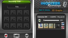 Snoozerr Links Lectures to Pictures  Most of the time when you record lectures, you're limited to audio only. Unfortunately, audio is only half the story. You're missing out on all the charts and pictures. Snoozerr wants to fix that by integrating photos into the recording.