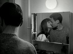 LE PETIT SOLDAT Anna Karina, Michel Subor (Jean-Luc Godard, 1963)