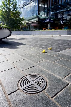 Round Storm Series drain at NorthWest Shopping Mall Westgate