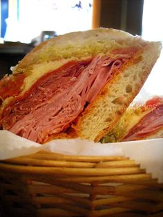 COMBO HERO | Ham, Salami, Popressata, Pepperoni, Provolne, Tomatos, Lettuce, Chili Spread | TORRISI ITALIAN SPECIALTIES | Lower East Side/Nolita, NYC | TORRISI, YOU'RE MY HERO | PHUDE-nyc | Food. Photos. 'Tude.