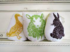 Bunny, Duck, Lamb