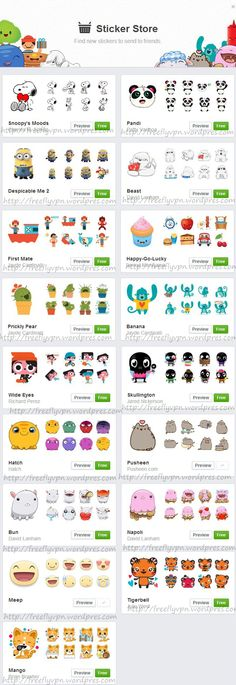 facebook stickers app download free