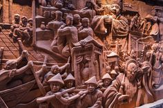 Most brilliant Terracotta murals at Terracotta Park, A must see on your Vietnam Holiday.