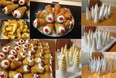 Κορνεδάκια !!! Πιό τέλεια δεν γίνετε !!!! ~ ΜΑΓΕΙΡΙΚΗ ΚΑΙ ΣΥΝΤΑΓΕΣ Sausage, Pillsbury, Desserts, Blog, Kuchen, Tailgate Desserts, Deserts, Sausages, Postres