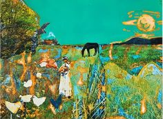 Romare Bearden: Southern Recollections (On the Road) African American Culture, African American Artist, American Artists, Afro, Romare Bearden, 8th Grade Art, Collage Artists, Collages, Art Database