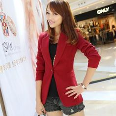 Buy 'Ringnor – Single-Button Blazer' with Free Shipping at YesStyle.com.au. Browse and shop for thousands of Asian fashion items from China and more!