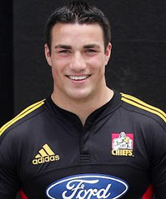 Richard Kahui of the New Zealand All Blacks rugby team.