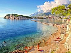 makarska - beautiful cristal sea