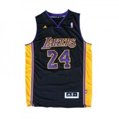 c5eac661bfc2 Mens Los Angeles Lakers Kobe Bryant Number 24 Jersey Black http   www.