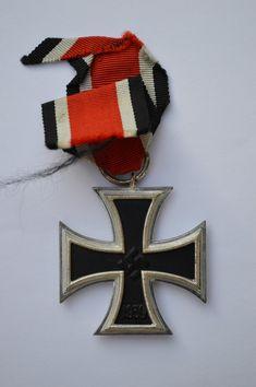 Iron Cross Second Class 1939 - Schinkel Variant Medal Honor, World War Ii, 4th Of July Wreath, Awards, Initials, Iron, Symbols, World War Two, Wwii