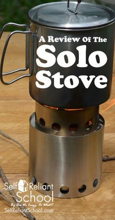A review of the Solo Stove Lite, a compact wood burning backpacking stove, great for camping and survival, and built to last. #beselfreliant