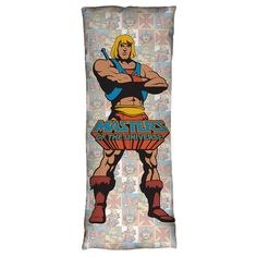Masters Of The Universe Heroes Body Pillow