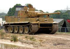 Pz Kpfw VI ausf E Tiger I - Tankfest - 25 June 2006