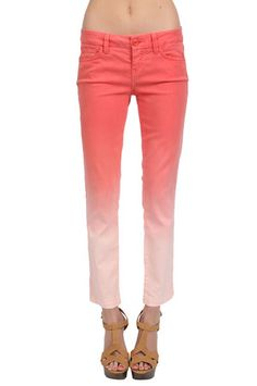 The Linen Pant in Sorbet by Level 99 from MFredric.com