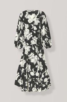 119aa6a0b2f7 Shop your new Kochhar Wrap Dress at GANNI.COM