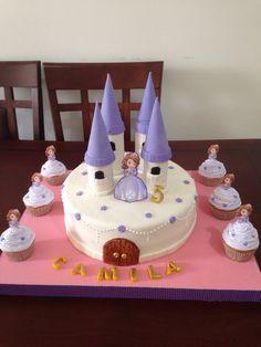 Torta de Princesita Sofia.