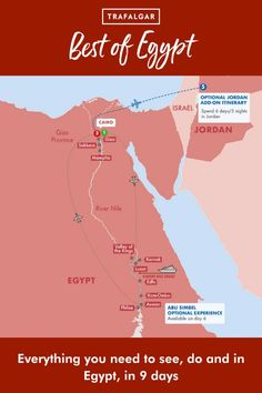 Discover the best things to do in Egypt. Planning an Egypt vacation? Take a look at our tours. SEE: The Citadel, Alabaster and Sultan Hassan Mosques, the Great Pyramids, the Sphinx at Giza, the Egyptian Museum, the Valley of the Kings, Queen Hatshepsut's Temple the Colossi of Memnon in Luxor, the Temple of Kom-Ombo, the temple of Isis on the island of Philae, Ramses II statue and Alabaster Sphinx, and the Step Pyramid in Sakkara. #trafalgartravel #visitegypt #travelegypt Egypt Travel, Africa Travel, Step Pyramid, Visit Egypt, Valley Of The Kings, Pyramids Of Giza, Luxor Egypt, Mosques, Cairo
