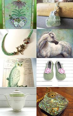 Autumn greens by JAN on Etsy--Pinned with TreasuryPin.com