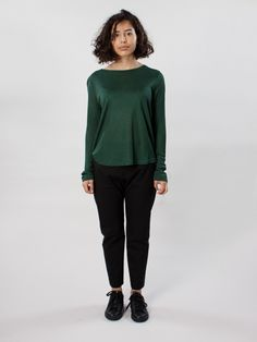 Efva Top Emerald by Carin Wester A/W-15 - APLACE Fashion Store & Magazine